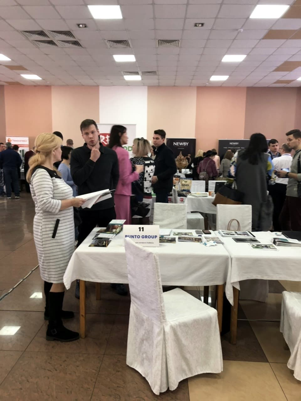 Punto Group на выставке Hospitality Business Day